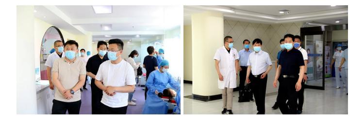 相互学习,共同提高-两家兄弟医院来我院参观交流
