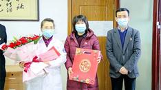 区领导春节前慰问我院医务人员